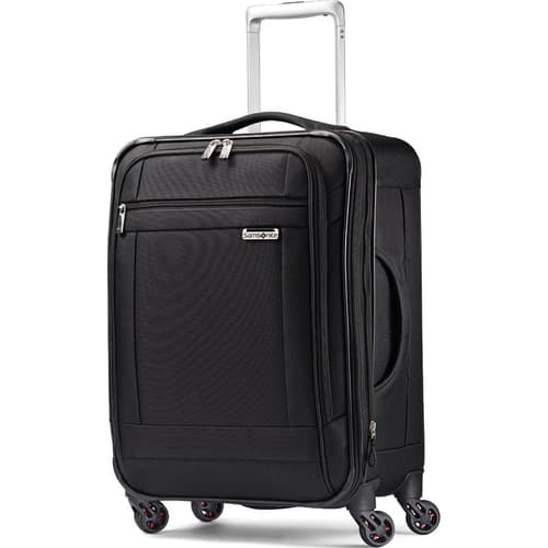 Samsonite Solyte 20 Carry On Spinner 59 Or Wheeled Garment Bag 69