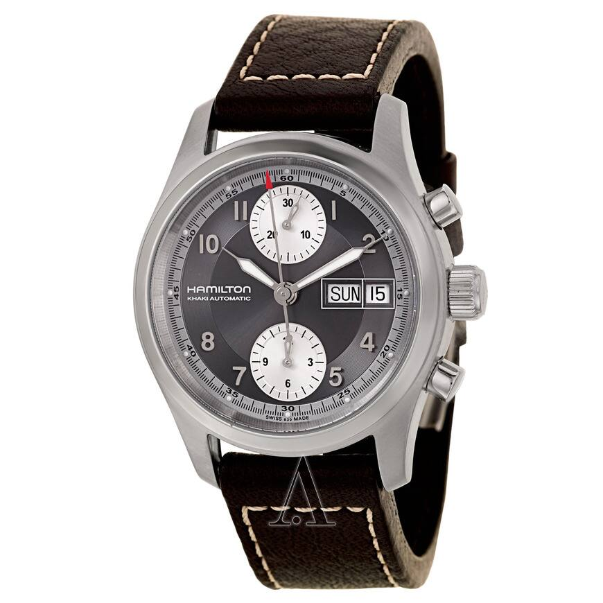 8ee522b600c3 Hamilton Men s Khaki Field Automatic Chronograph Watch - Slickdeals.net