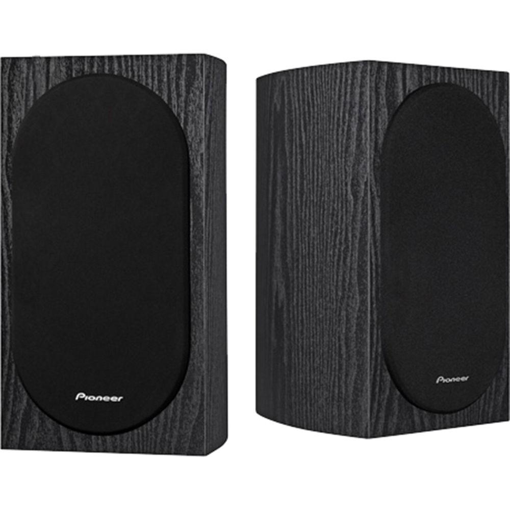 Pioneer Andrew Jones Designed 4 Compact 2 Way Bookshelf Speakers Pair 68
