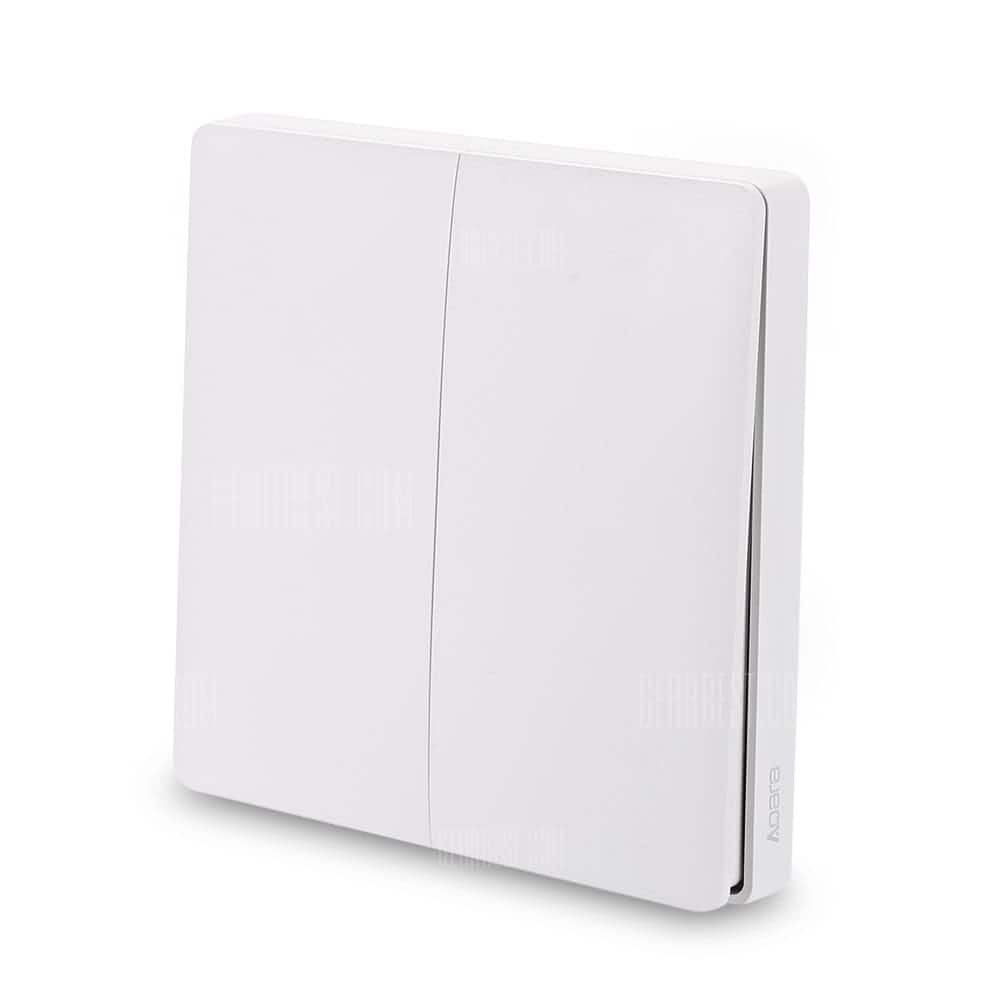 Xiaomi Aqara: Smart Light Switch Wireless Version $10.50, Wall Switch ZigBee Version $19, Control Smart Switch $16.50 + free s/h