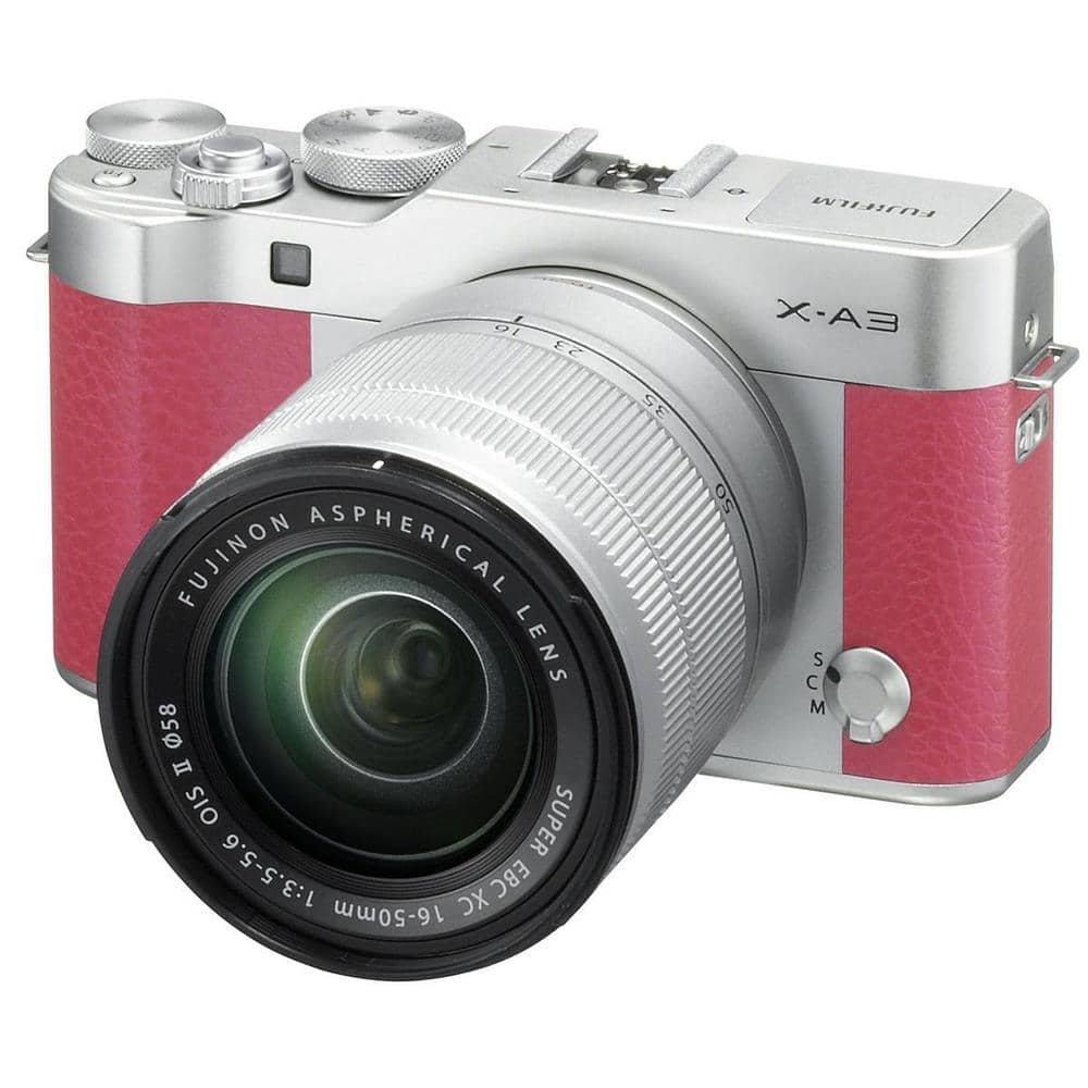 Fuji X-A3 Mirrorless Camera with XC 16-50mm f/3.5-5.6 Lens $270 + free s/h