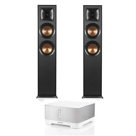 Klipsch (pair) R-625FA Dolby Atmos Speakers + Sonos CONNECT:AMP $1000 or w/ (pair) RP-280FA Atmos Speakers $1300 + free s/h
