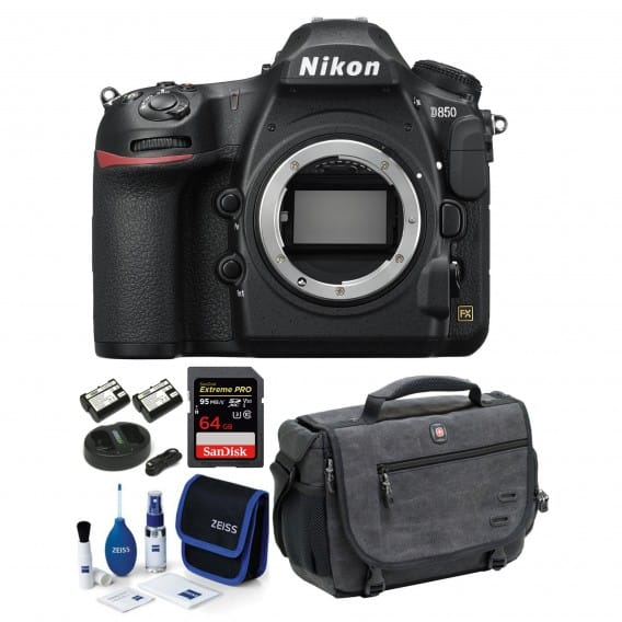 Nikon D850 FF DSLR Camera Body + 64gb Sandisk Extreme Pro Memory $3100 + free s/h