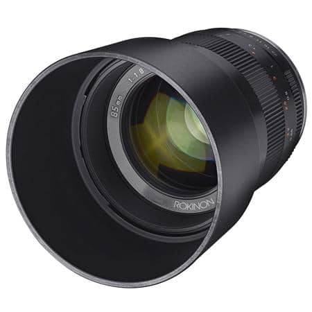 Rokinon 85mm f/1.8 Manual Focus Lens for Sony E $299 + free s/h