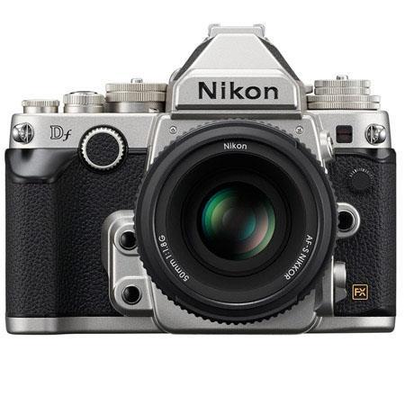 Nikon Df FX-format DSLR Camera with AF-S NIKKOR 50mm f/1.8G Special Edition Lens (refurb) $1700 + free s/h