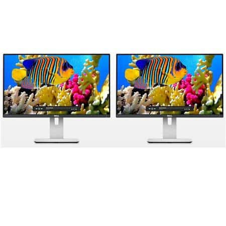 "2-pack 23.8"" Dell U2414H UltraSharp 1080p Thin Bezel Monitors $340 + free s/h"