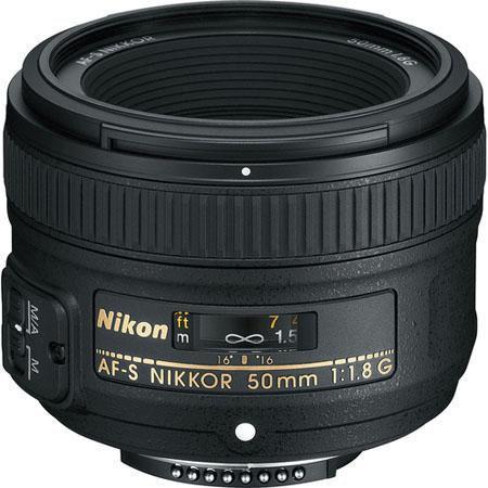 Nikon 50mm f/1.8G AF-S Lens (Refurb) $167 + free s/h