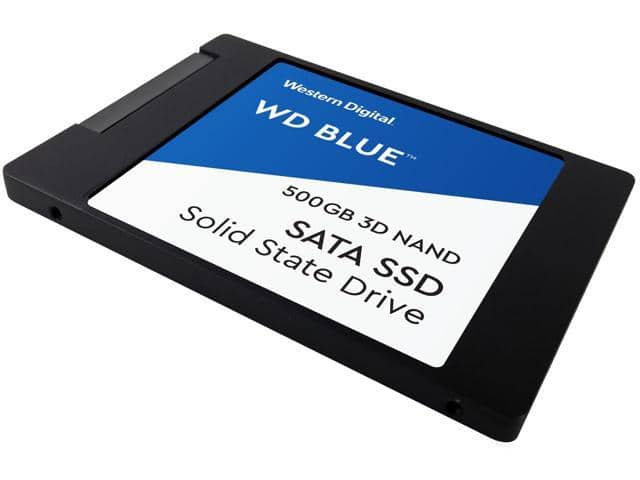 500GB WD Blue 3D NAND 7mm Internal SSD $58 + free s/h