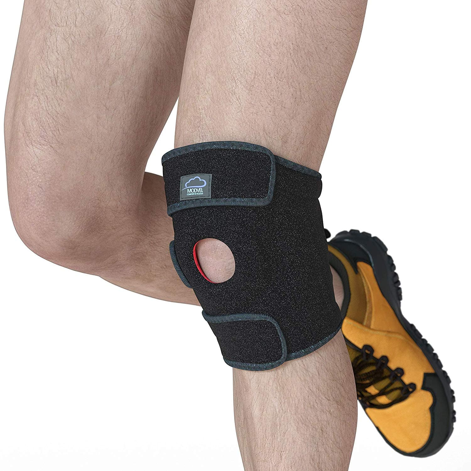 28533f1785 Modvel Knee Compression Sleeve Support For Arthritis, ACL, Running ...