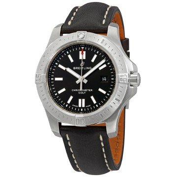 Breitling Chronomat Colt Automatic Chronometer Watch $2050 + free s/h or on Bracelet $2295