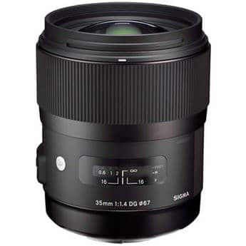 (auth dealer) Sigma 35mm f/1.4 DG HSM ART Lens (Canon, Nikon, Sony E-Mount) $699 + Free S&H  (via best offer)
