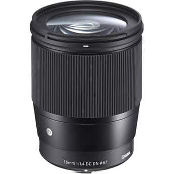 (Auth Dealer) Sigma Contemporary Lenses for Sony E: 30mm f/1.4 DC DN $255 or 16mm f/1.4 DC DN $369 (via best offer) + free s/h