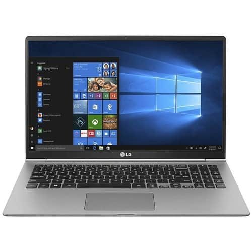 "LG Gram Laptop: 15.6"" 1080p, i5-8250U, 8GB DDR4, 256GB SSD, 2.13lbs $929 + free s/h"