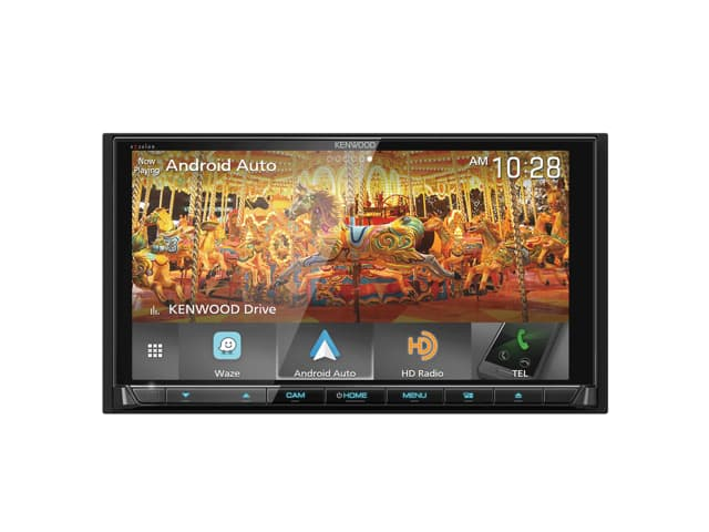 "Kenwood Excelon DNX995S 6.8"" HD Screen Navigation/DVD Receiver with Apple CarPlay and Android Auto $600 + free s/h"