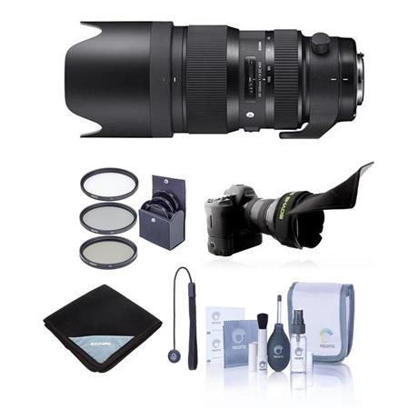 (auth dealer) Sigma Lenses w/ Dock: 50-100mm f/1.8 DC HSM Art Lens $999,  24-70mm F2.8 DG Art $1199, 100-400mm F5-6.3 DG OS HSM Lens $649 + free s/h