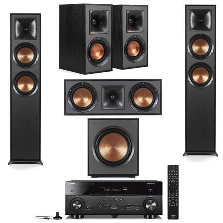 Klipsch: 2x R-625FA + 2x r-41M + r-52C + r-100sw Sub + Yamaha rx-a780 $1399, or w/ r-12swi sub + Yamaha rx-v2085 $1899 & More