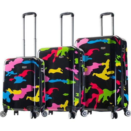 "Mia Viaggi Italy Hardside Luggage 3 Piece (20""/24""/28"") Nested Spinner Set $99 + free s/h"