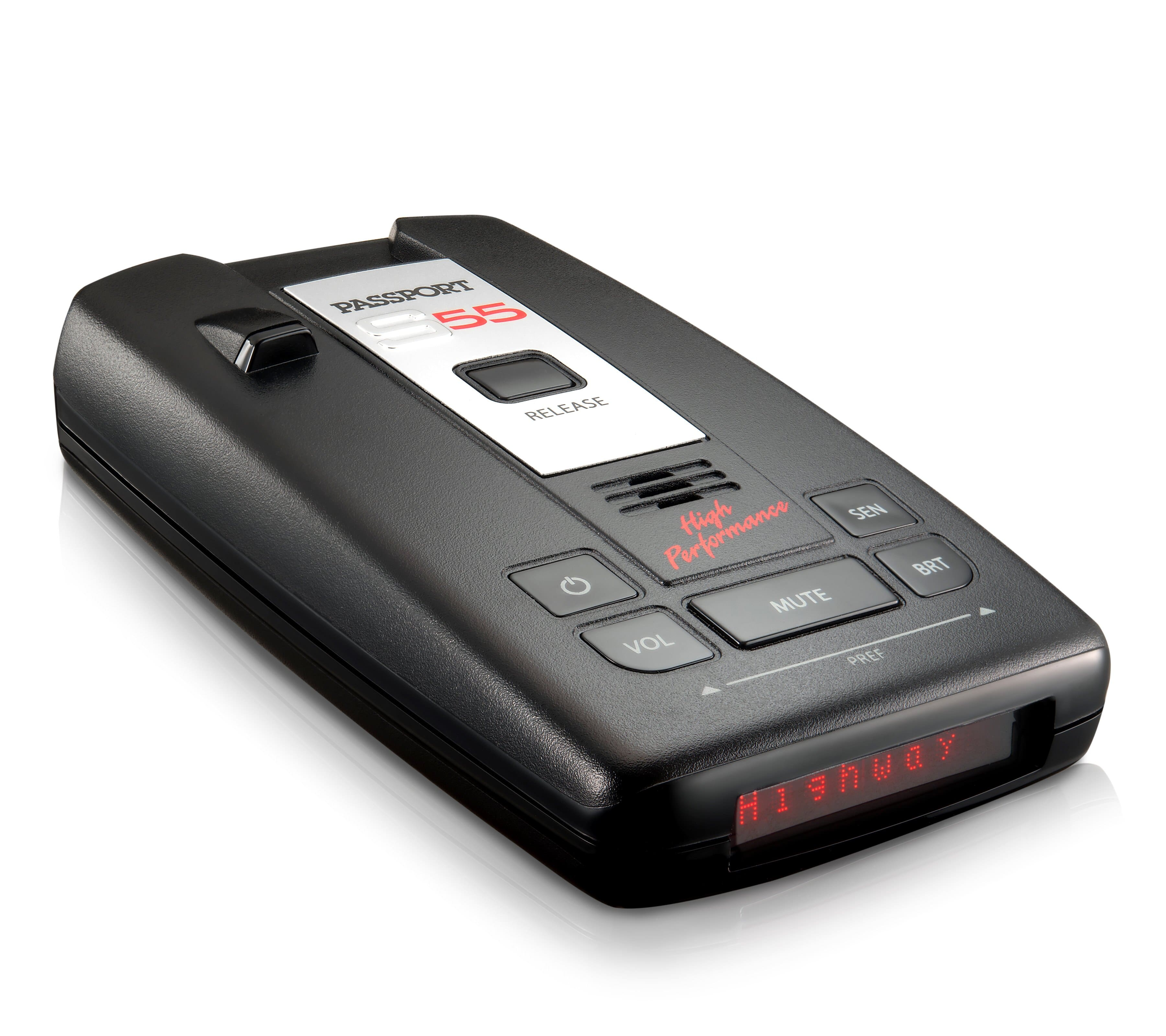 Escort Passport S55 Radar/Laser Detector $95 + free s/h