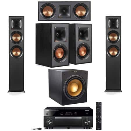 Klipsch: 2x Klipsch R-625FA + R-41M + R-52C + R-12SWi Sub + RX-a1080 7.2Ch Receiver $1699 or w/ RX-a2080 $2049, or w/ RX-a3080 $2299 + free s/h