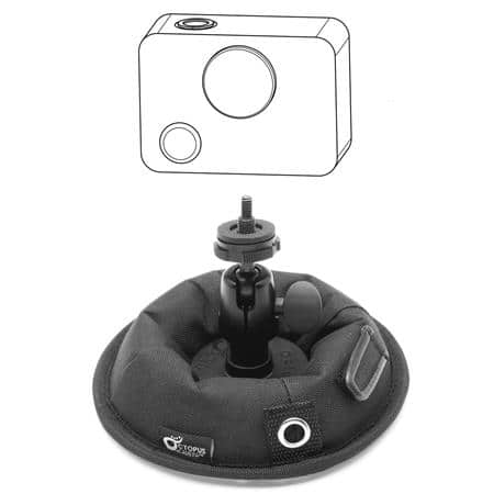 OctoPad Weighted Camera & Audio Equipment Support Base $14 + free s/h
