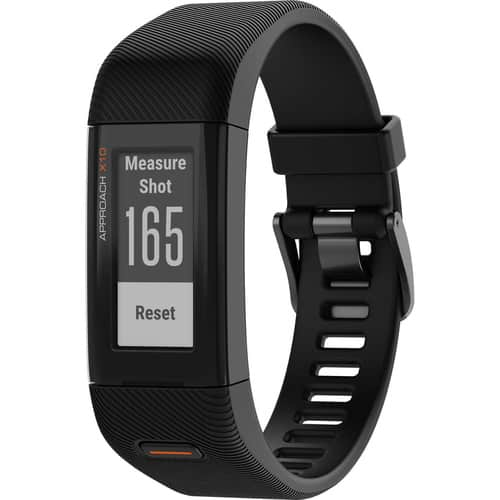 Garmin Approach X10 GPS Golf Watch, Black (Sm/Med) $110 + free s/h