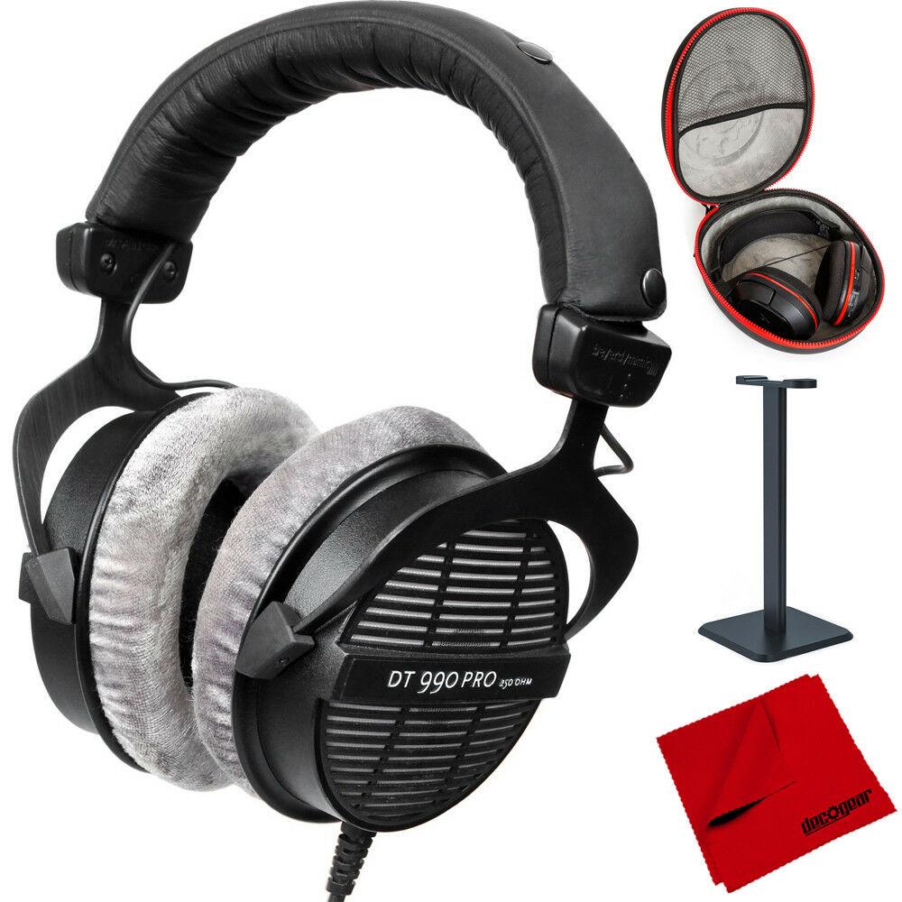 BeyerDynamic DT-990 250Ohm Headphones + Deco Gear Case + Stand $118 + free s/h