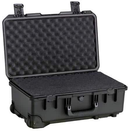 Pelican iM2500 Case with Wheels: w/ Memory Foam $100 or Padded Dividers $120 + free s/h