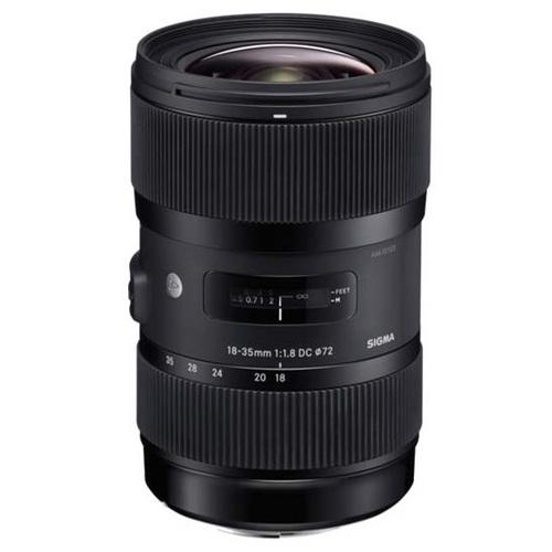 Sigma AF 18-35mm f/1.8 DC HSM Art Lens (Nikon) w/ Sigma USB Dock $549 + free s/h