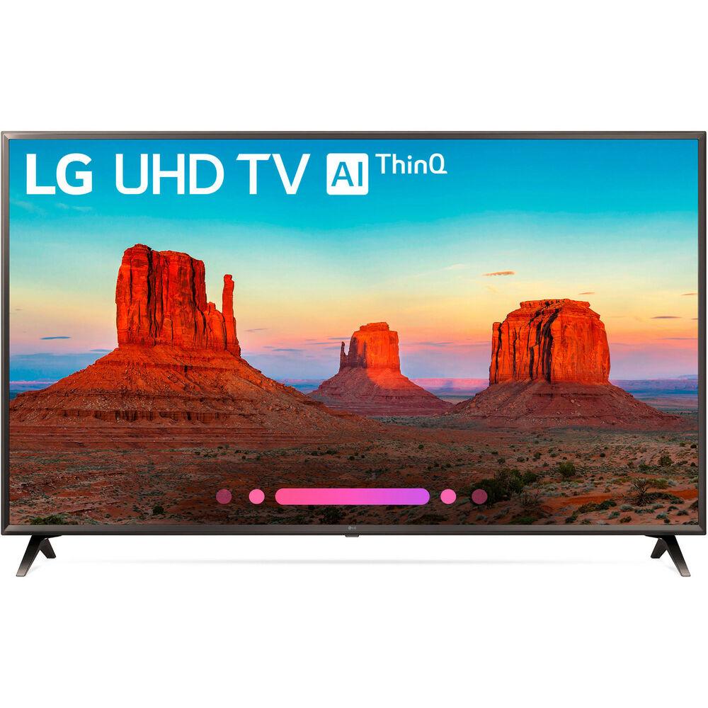 """86"""" LG 86UK6570 4K Smart LED TV $1899 + free s/h"""