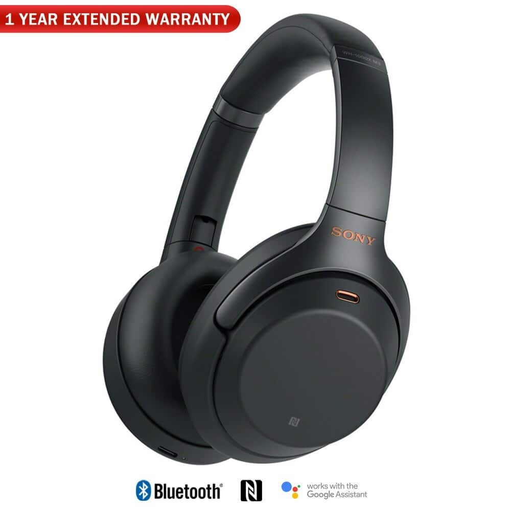 (auth dealer) Sony WH1000XM3 Noise Canceling Bluetooth Headphones + 1 yr Extended Warranty $254 + free s/h