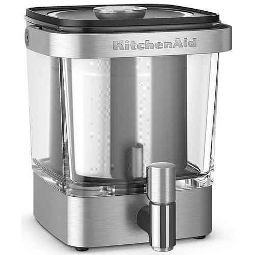 38oz KitchenAid Cold Brew Coffee Maker ( Brushed Stainless Steel) $55 + free s/h