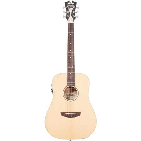 D'Angelico Premier Niagara Mini Dreadnought Body Acoustic Electric Guitar $69 + free s/h after $100 Slickdeals rebate