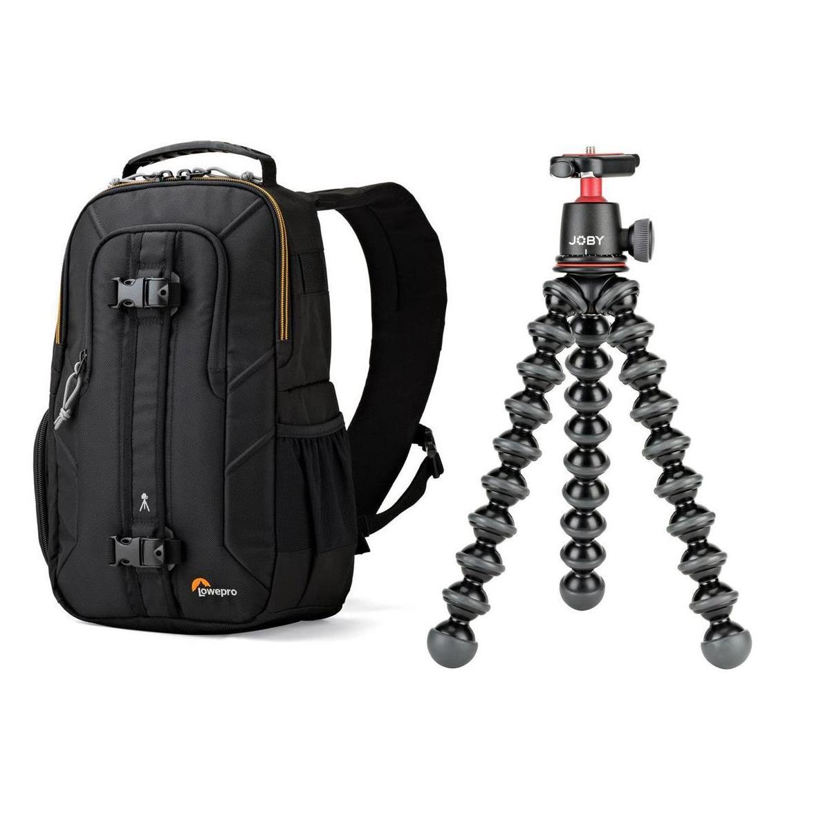Joby GorillaPod 3K Kit + Lowepro Slingshot Edge 150 AW Backpack $80 + free s/h
