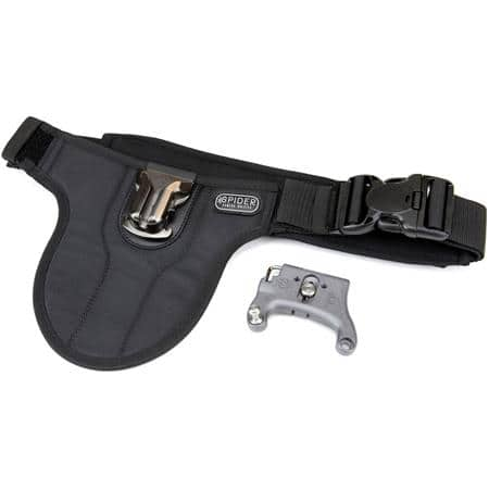SpiderHolster SpiderPro V2 Single Camera System (Holster, Belt & Plate with Pin) $99 + free s/h