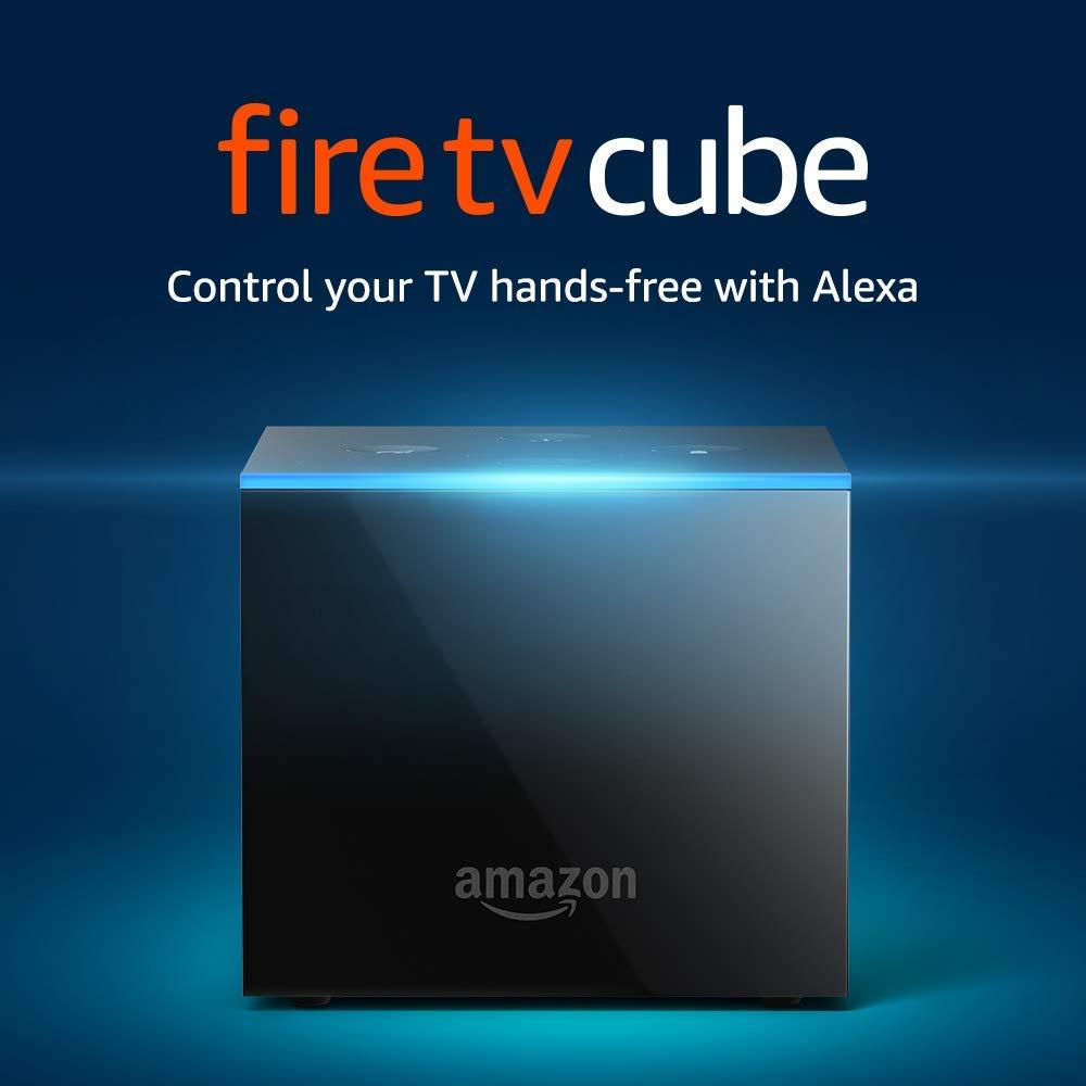 Prime Members: Fire TV Cube 4K Media Player + $45 Sling TV credit $70 + free s/h