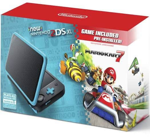 Nintendo 2DS XL System With Pre-Installed Mario Kart 7 Game  $117 + free s/h