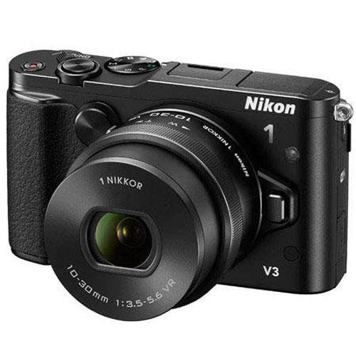 (Nikon 1 refurbs): 1 V3 Mirrorless Camera w/ 10-30mm Lens $279 S1 w/ 11-27.5mm Lens $99, AW1  Waterproof Mirrorless w/ 11-27.5mm Lens $279 & More