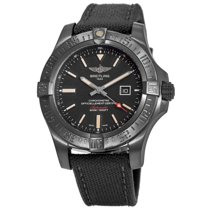 Breitling Avenger Blackbird 48 Special Edition Titanium Automatic Watch $2995 + free s/h