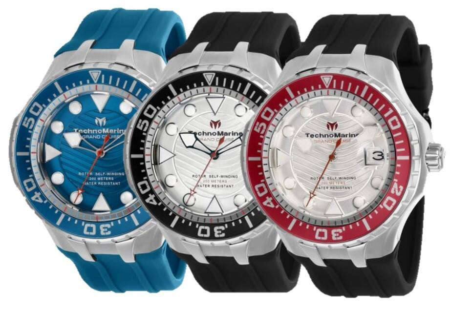 Technomarina Cruise Automatic Diving Watch $110 each + free s/h