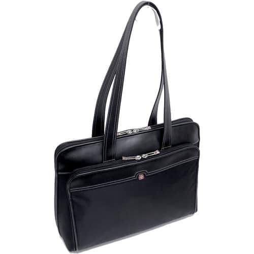 "SwissGear RHEA Women's Leather Laptop Business Organizer Tote (17"" Inches) $27 + free s/h"