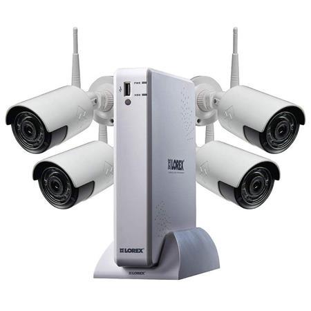Lorex LH070 1TB DVR + 4-Ch 1080p Camera's Outdoor Wireless Surveillance System $199 + free s/h
