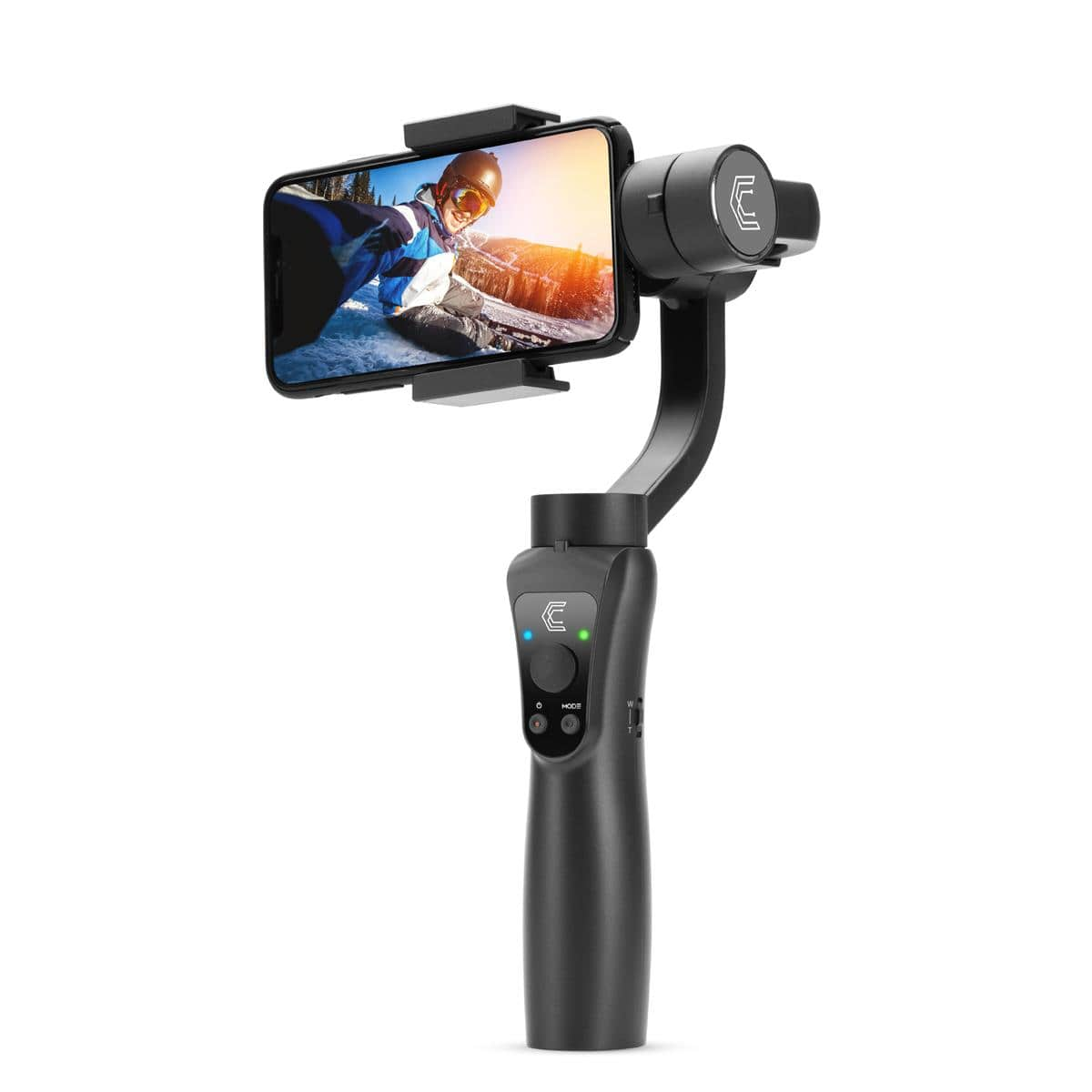Clar 3-Axis Handheld Cell Phone Gimbal $50 + free s/h