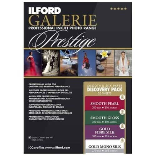 """20ft of 8.5x11"""" Ilford Galerie Photo Prestige Smooth Silk Discovery Photo Paper $10 + free s/h"""