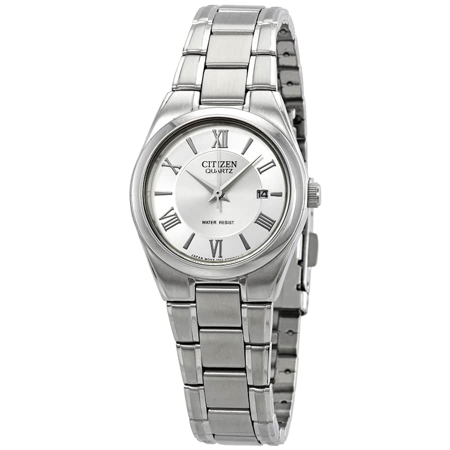Citizen Silver Dial Ladies Watch  $40 + free s/h