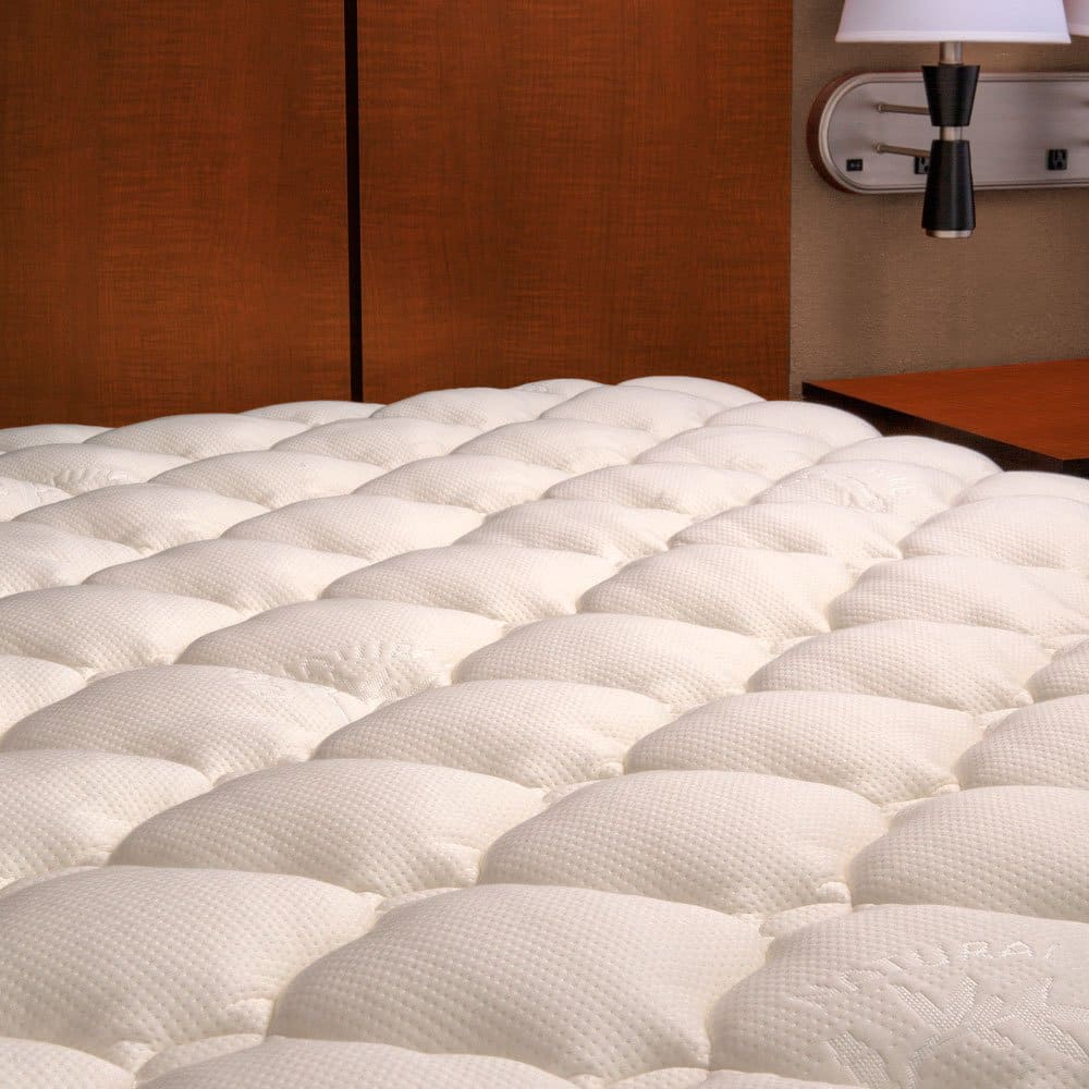 (new w/ manufacturer defects) eLuxurySupply Bamboo Mattress Pad with Fitted Skirt (all sizes) $30 + free s/h
