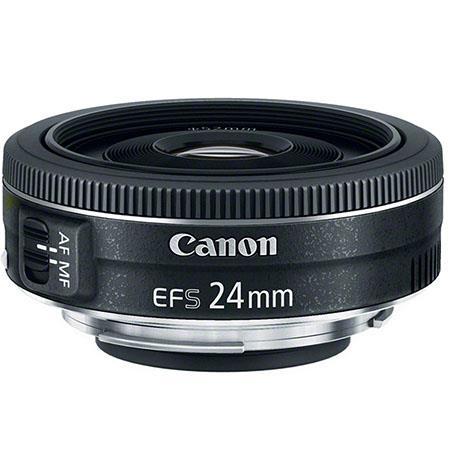 Canon Lens + Filter Bundles: EF-S 24mm f/2.8 STM $99, EF 40mm f/2.8 STM Lens $129, Canon EF 85mm f/1.8 USM - $269 & More