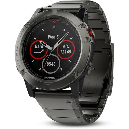Garmin Fenix 5 Sapphire Multisport 47mm GPS Fitness Watch $370, Fenix 3 HR GPS Watch with Titanium and Sport Bands $265 + free s/h