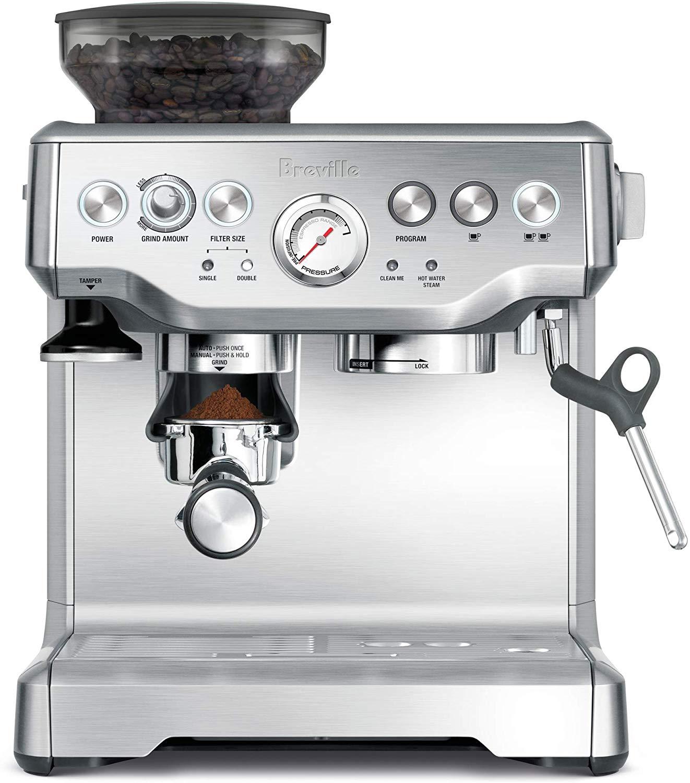 Breville BES870XL Barista Express Espresso Machine $444 + Free Shipping