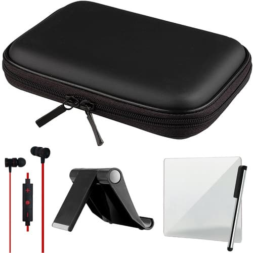 """Deco Gear In-ear Bluetooth Earbuds + 10"""" Tablet Case + Tablet Stand + Stylus $13 + free s/h"""