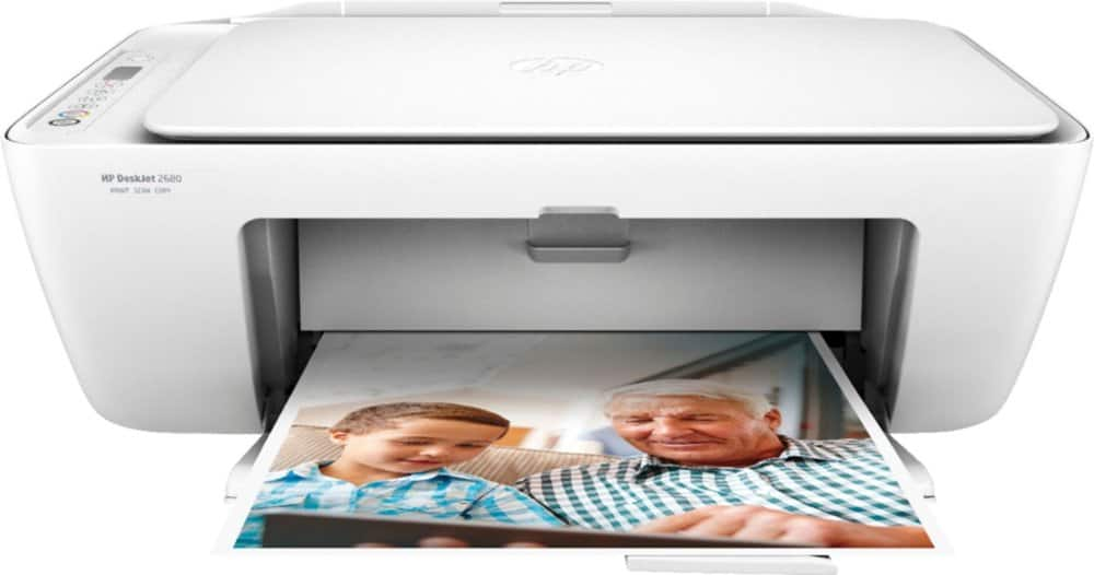 HP DeskJet 2680 Wireless All-In-One Printer with $10 of Instant Ink Included $20 + free s/h